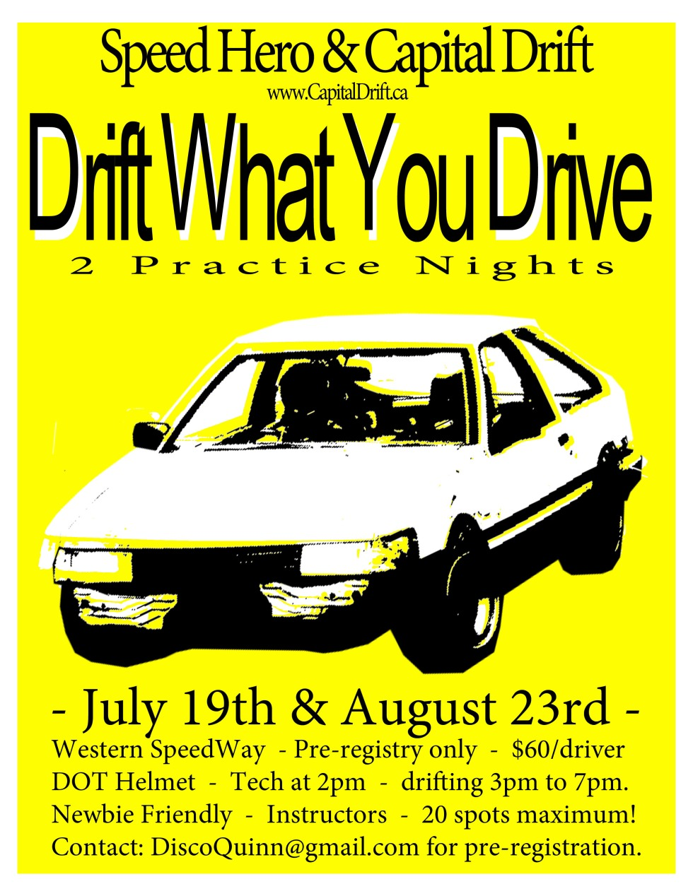DWYD july aug poster